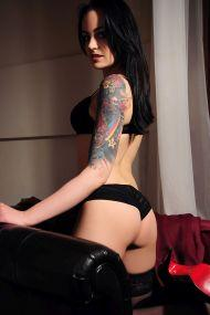 Jana Deutsches Privat Escort Girl mit Tattoos