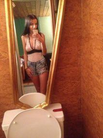 Ewelin -  skinny Teeny Model aus Berlin mit langen Beinen und einem Top Service